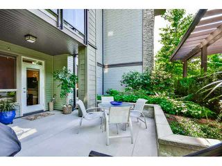 "Photo 1: 105 7478 BYRNEPARK Walk in Burnaby: South Slope Condo for sale in ""GREEN"" (Burnaby South)  : MLS®# V1136029"