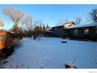 Photo 18: 93 Woodbury Drive in WINNIPEG: St Vital Residential for sale (South East Winnipeg)  : MLS®# 1531097