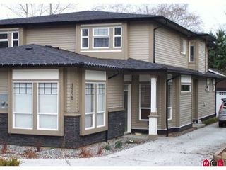 Photo 1: 1596 PARKER Place in South Surrey White Rock: Home for sale : MLS®# F1018483