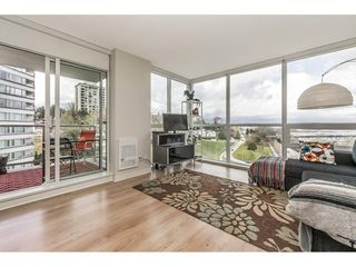 """Photo 3: 1001 125 COLUMBIA Street in New Westminster: Downtown NW Condo for sale in """"Northbank"""" : MLS®# R2257276"""