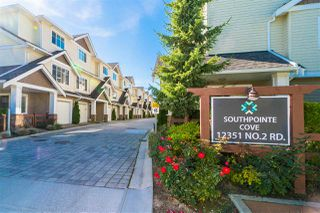 Photo 1: 28 12351 NO. 2 Road in Richmond: Steveston South Townhouse for sale : MLS®# R2312658