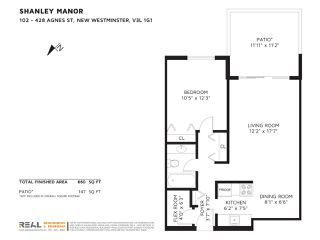 """Photo 16: 102 428 AGNES Street in New Westminster: Downtown NW Condo for sale in """"SHANLEY MANOR"""" : MLS®# R2330083"""