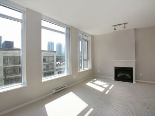 Photo 2: 503 1001 Homer Street in The Bentley: Yaletown Home for sale ()