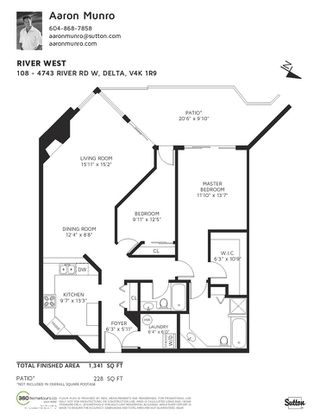 """Photo 23: 108 4743 W RIVER Road in Delta: Ladner Elementary Condo for sale in """"RIVER WEST"""" (Ladner)  : MLS®# R2479410"""