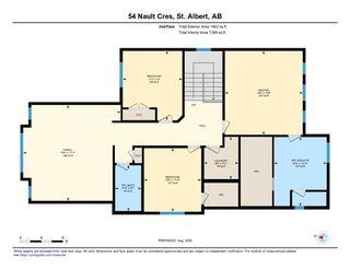 Photo 34: 54 NAULT Crescent: St. Albert House for sale : MLS®# E4211896