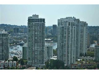 "Photo 12: # 2605 977 MAINLAND ST in Vancouver: Yaletown Condo for sale in ""YALETOWN PARK"" (Vancouver West)  : MLS®# V1033564"