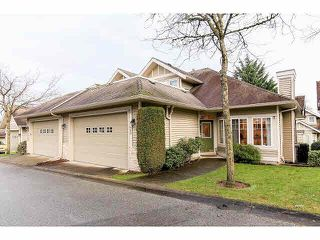 "Photo 1: 28 16920 80 Avenue in Surrey: Fleetwood Tynehead Townhouse for sale in ""Stone Ridge"" : MLS®# F1428666"
