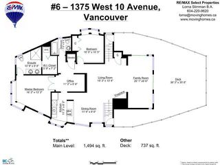 "Photo 31: 6 1375 W 10TH Avenue in Vancouver: Fairview VW Condo for sale in ""HEMLOCK HOUSE"" (Vancouver West)  : MLS®# V1107342"