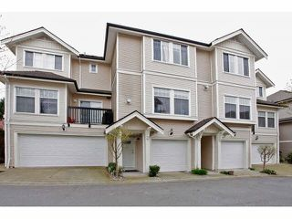 "Photo 1: 41 21535 88 Avenue in Langley: Walnut Grove Townhouse for sale in ""Redwood Lane"" : MLS®# F1436520"