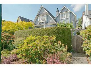 Photo 1: 2567 5TH Ave W in Vancouver West: Kitsilano Home for sale ()  : MLS®# V1013166
