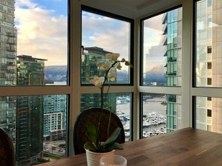 "Photo 2: 2102 1238 MELVILLE Street in Vancouver: Coal Harbour Condo for sale in ""POINT CLAIRE"" (Vancouver West)  : MLS®# R2144697"