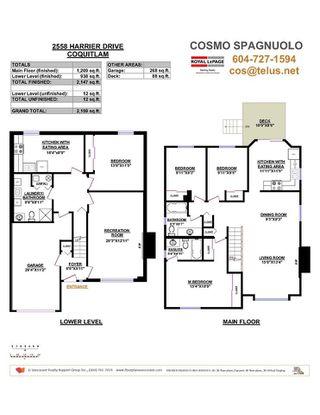 Photo 3: 2558 HARRIER Drive in Coquitlam: Eagle Ridge CQ House for sale : MLS®# R2306880