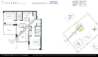 """Photo 20: 1503 608 BELMONT Street in New Westminster: Uptown NW Condo for sale in """"VICEROY"""" : MLS®# R2330668"""