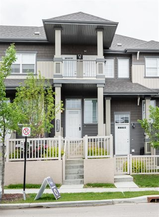 Photo 1: 577 Orchards Boulevard in Edmonton: Zone 53 Townhouse for sale : MLS®# E4162795