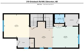 Photo 43: 219 GRIESBACH Road in Edmonton: Zone 27 House Half Duplex for sale : MLS®# E4192905
