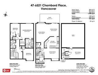 Photo 37: 47 6521 CHAMBORD PLACE in Vancouver: Fraserview VE Townhouse for sale (Vancouver East)  : MLS®# R2469378