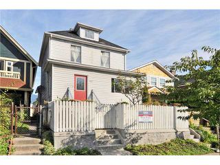 Photo 1: 1157 E PENDER Street in Vancouver: Mount Pleasant VE House for sale (Vancouver East)  : MLS®# V913600