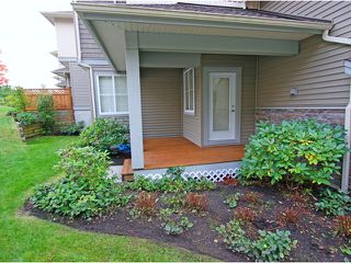 """Photo 10: 22 11160 234A Street in Maple Ridge: Cottonwood MR Townhouse for sale in """"THE VILLAGE AT KANAKA"""" : MLS®# V915791"""