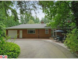 "Photo 1: 20286 27TH Avenue in Langley: Brookswood Langley House for sale in ""South Brookswood"" : MLS®# F1201227"