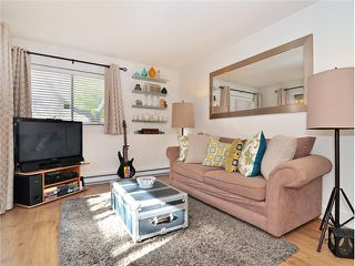 """Photo 4: 101 2045 FRANKLIN Street in Vancouver: Hastings Condo for sale in """"HARBOUR MOUNT"""" (Vancouver East)  : MLS®# V1049075"""