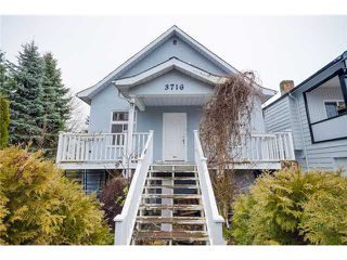 Photo 1: 3716 SLOCAN Street in Vancouver: Renfrew Heights House for sale (Vancouver East)  : MLS®# V1102738