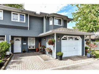 """Photo 1: 110 16335 14TH Avenue in Surrey: King George Corridor Townhouse for sale in """"Pebble Creek"""" (South Surrey White Rock)  : MLS®# F1441807"""