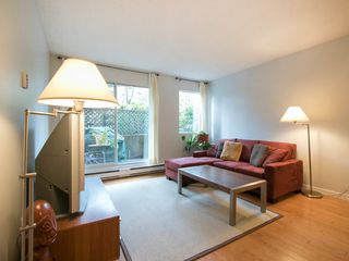 "Photo 3: 108 1508 MARINER Walk in Vancouver: False Creek Condo for sale in ""Mariner Walk"" (Vancouver West)  : MLS®# R2033804"