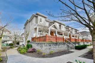 "Photo 1: 15 6852 193 Street in Surrey: Clayton Townhouse for sale in ""Indigo"" (Cloverdale)  : MLS®# R2049861"