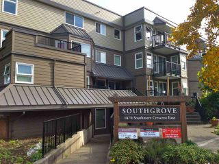 "Photo 1: 105 1870 E SOUTHMERE Crescent in Surrey: Sunnyside Park Surrey Condo for sale in ""Southgrove"" (South Surrey White Rock)  : MLS®# R2049733"