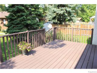Photo 20: 825 Kilkenny Drive in Winnipeg: Fort Richmond Residential for sale (1K)  : MLS®# 1623586