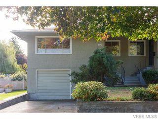 Photo 1: 1609 Chandler Ave in VICTORIA: Vi Fairfield East Half Duplex for sale (Victoria)  : MLS®# 744079
