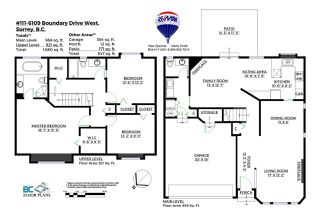 """Photo 9: 111 6109 W BOUNDARY Drive in Surrey: Panorama Ridge Townhouse for sale in """"Lakewood Gardens"""" : MLS®# R2153090"""