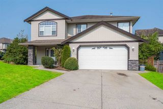 "Photo 1: 7996 D'HERBOMEZ Drive in Mission: Mission BC House for sale in ""College Heights"" : MLS®# R2196357"
