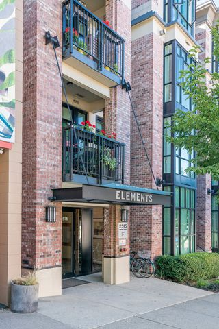 "Photo 1: 218 2515 ONTARIO Street in Vancouver: Mount Pleasant VW Condo for sale in ""ELEMENTS"" (Vancouver West)  : MLS®# R2200404"