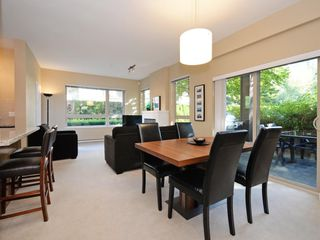 "Photo 4: 104 701 KLAHANIE Drive in Port Moody: Port Moody Centre Condo for sale in ""Nahanni"" : MLS®# R2209103"