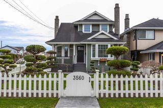 "Main Photo: 3560 HUNT Street in Richmond: Steveston Village House for sale in ""STEVESTON VILLAGE"" : MLS®# R2240132"