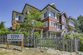 "Photo 1: 18 1219 BURKE MOUNTAIN Street in Coquitlam: Burke Mountain Townhouse for sale in ""REEF"" : MLS®# R2292152"