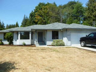 Main Photo: 5327 EVANS Road in Halfmoon Bay: Halfmn Bay Secret Cv Redroofs House for sale (Sunshine Coast)  : MLS®# R2294986