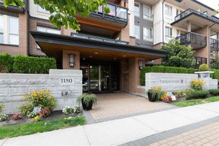 "Photo 1: 310 1150 KENSAL Place in Coquitlam: New Horizons Condo for sale in ""THOMAS HOUSE"" : MLS®# R2297775"