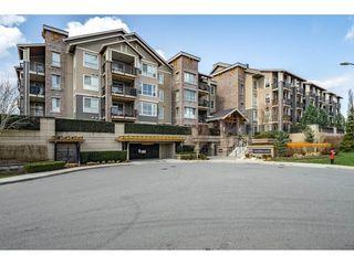 "Photo 1: 424 5655 210A Street in Langley: Salmon River Condo for sale in ""CORNERSTONE"" : MLS®# R2351082"