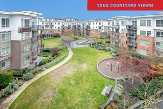 "Photo 1: 418 9500 ODLIN Road in Richmond: West Cambie Condo for sale in ""CAMBRIDGE PARK by Polygon"" : MLS®# R2361271"