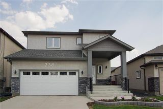 Photo 1: 238 Bellflower Road in Winnipeg: Bridgwater Lakes Residential for sale (1R)  : MLS®# 1914110