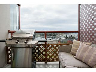 """Photo 13: 507 220 ELEVENTH Street in New Westminster: Uptown NW Condo for sale in """"QUEENS COVE"""" : MLS®# V1056952"""