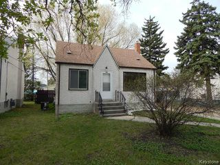Photo 1: 288 Edison Avenue in WINNIPEG: North Kildonan Residential for sale (North East Winnipeg)  : MLS®# 1511957