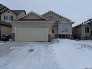 Photo 1: 67 Battersea Close in Winnipeg: St Vital Residential for sale (South East Winnipeg)  : MLS®# 1604224