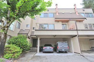 "Photo 1: 103 1210 FALCON Drive in Coquitlam: Upper Eagle Ridge Townhouse for sale in ""FERNLEAF PLACE"" : MLS®# R2043000"