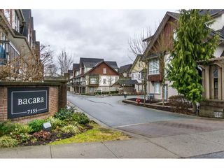 "Main Photo: 85 7155 189 Street in Surrey: Clayton Townhouse for sale in ""Bacara"" (Cloverdale)  : MLS®# R2144743"