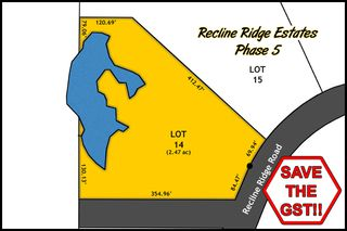 Main Photo: Lot 14 Recline Ridge Road in Tappen: Land Only for sale : MLS®# 10200569