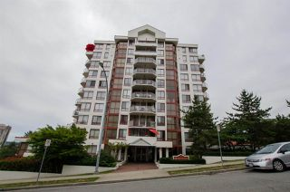 "Photo 1: 501 220 ELEVENTH Street in New Westminster: Uptown NW Condo for sale in ""QUEENS COVE"" : MLS®# R2287761"
