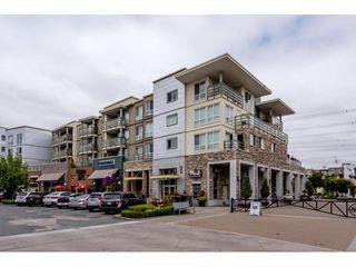 """Photo 1: 404 15775 CROYDON Drive in Surrey: Grandview Surrey Condo for sale in """"Morgan Crossing"""" (South Surrey White Rock)  : MLS®# R2293200"""